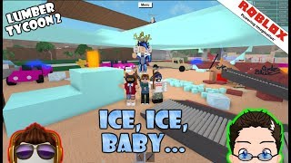 Roblox - Lumber Tycoon 2 - So Many Gifts From Fans! (and ice rink)