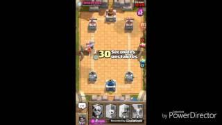 #14eme vidéo sur clash royal/deck full légendaire sur le tournoi de la pierre tombale /