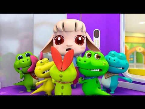 cinco-crocodilos-no-elevador- -bom-hábito- -historinhas-e-músicas-infantis- -babybus-português