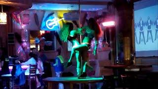 Отдых в Болгарии - Солнечный берег (часть 7), Центр, ночь(В этом видео прогулка по центру Солнечного берега ночью., 2014-11-23T14:23:56.000Z)