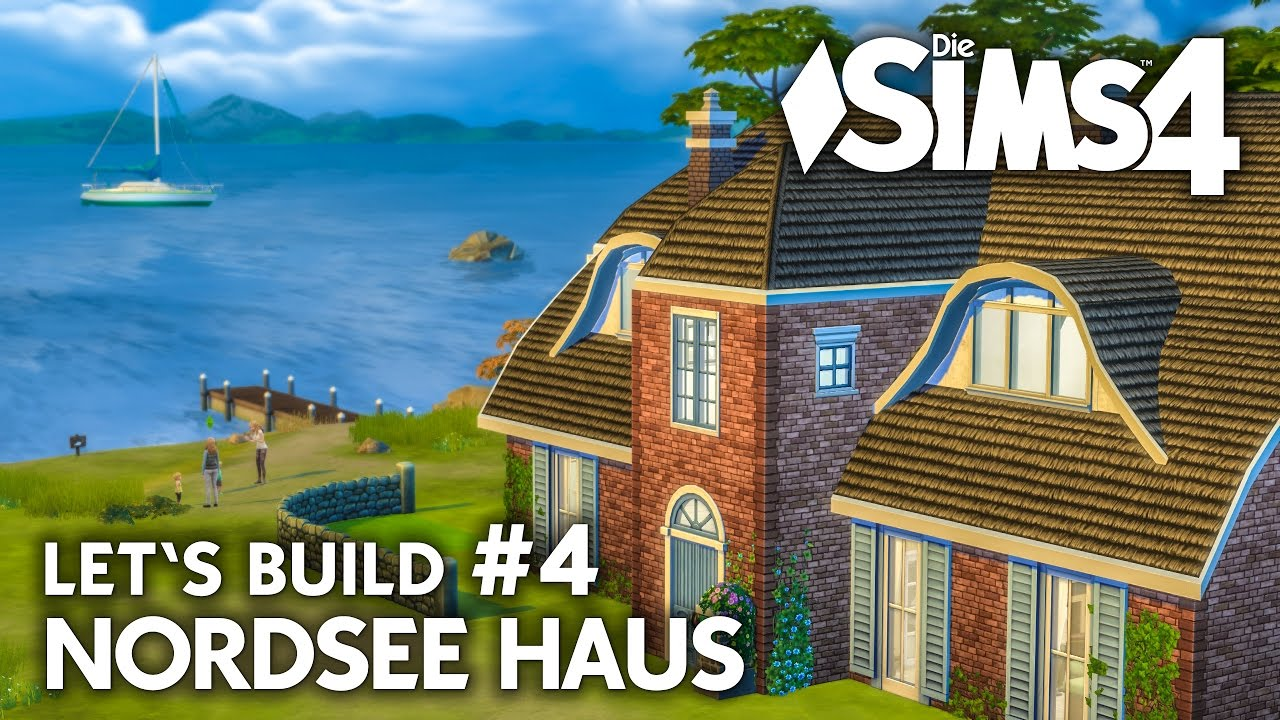 familienhaus bauen in die sims 4 nordsee haus 4 let 39 s build deutsch youtube. Black Bedroom Furniture Sets. Home Design Ideas