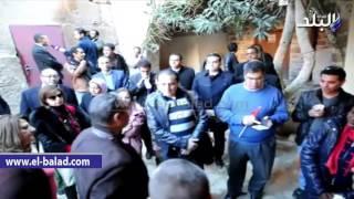 بالفيديو.. فنانو وإعلاميو مصر يحتفلون بعيد ميلاد القديسة بسانت كاترين