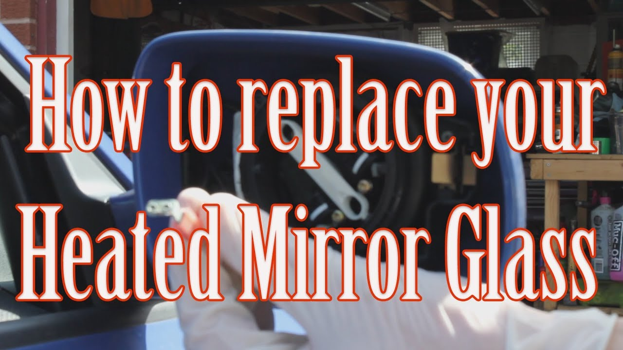 how to change electric heated mirror glass audi a3 youtube heat wiring diagram