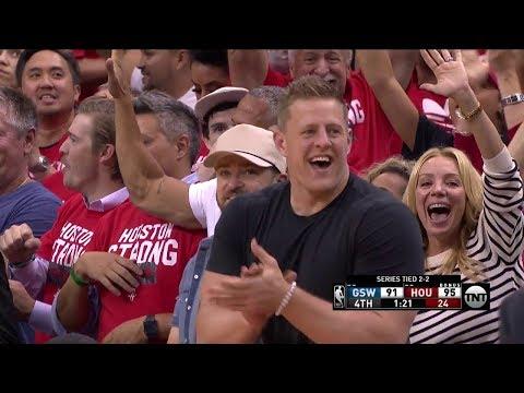 Eric Gordon Hits the Huge Three - Game 5 | Warriors vs Rockets | May 24, 2018 | 2018 NBA West Finals