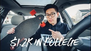 How I made $1200 in ONE week of college