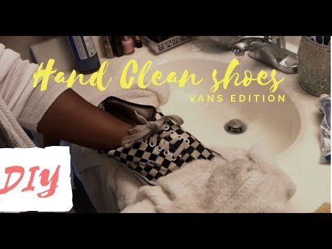 Hand Clean ANY shoe at Home- VANS edition