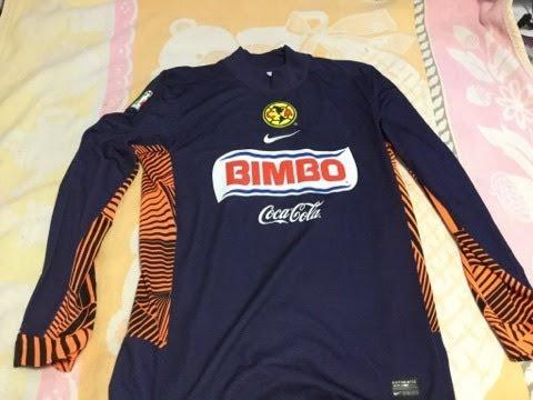 7c5ed80f0 Jersey Portero Nike Club América 2011 - 2012 - YouTube