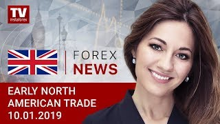 InstaForex tv news: 10.01.2019: No one wants to venture, buying USDX