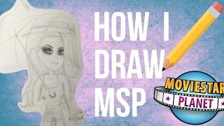 How I draw MSP | Speed Draw