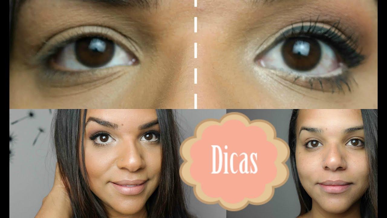 Well-known Maquiagem para Olhos Pequenos e Caídos - YouTube WV07