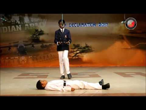 Sainik School Amaravathinagar  Inter House Declamation 2017 - Chera Date : 24 Jul 2017