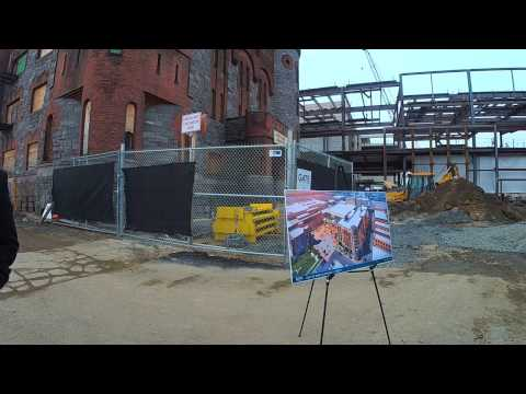 Tour of MGM Springfield casino construction site