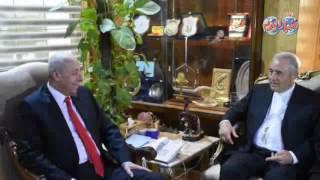 أخبار اليوم | محافظ أسوان يستقبل سفير الفتايكان بمصر ويؤكد على وحدة النسيج المصرى