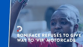 activist-boniface-mwangi-refuses-to-give-way-to-vip-motorcade