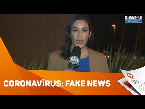 Fake news sobre o coronavírus - TV Sorocaba SBT