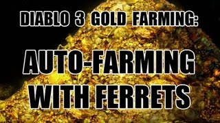 Diablo 3 - Automatic Gold Farming - Go AFK and Make Gold!