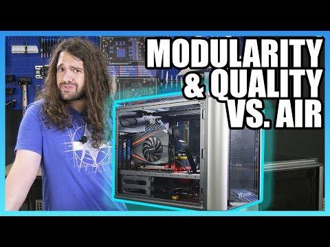 Thermaltake Level 20 VT Review: Modularity & Glass vs. Air [HD]