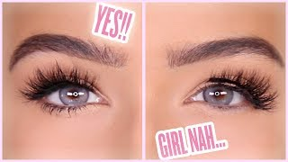 HOW TO APPLY FALSE LASHES EASILY | Amanda Ensing