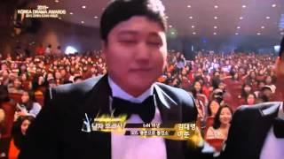Video Leejoon @ 2015 Korean Drama Award download MP3, 3GP, MP4, WEBM, AVI, FLV Mei 2018