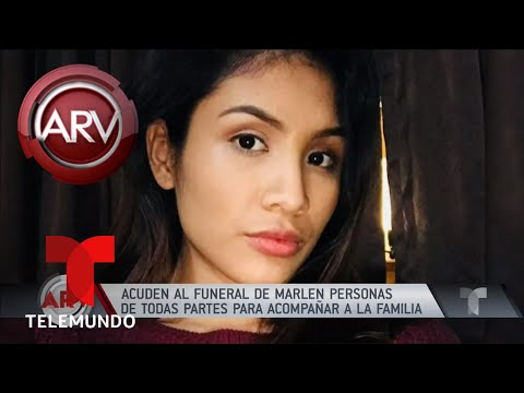 El emotivo funeral a Marlén Ochoa en Chicago | Al Rojo Vivo | Telemundo