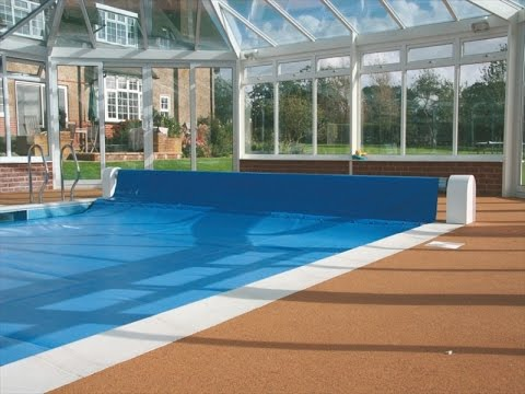 Swimming Pool Solar Cover Reel Online Reviews Youtube