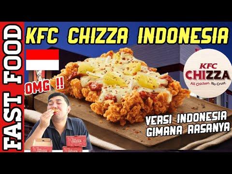 KFC MINI CHIZZA INDONESIA - NO HOAX ! BARU HADIR HARI INI