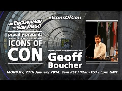 Icons Of Con: #1 Geoff Boucher (27th January 2014)