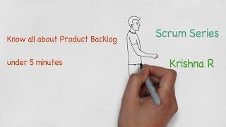scrum product backlog
