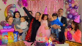 مفأجات حفلة عيد ميلاد غزل ? (صار عمرها 6️⃣سنوات)