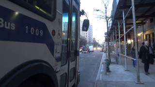 MaBSTOA: New Flyer D60HF # 1009 (ex-5500) On A Abingdon Square-bound M14A