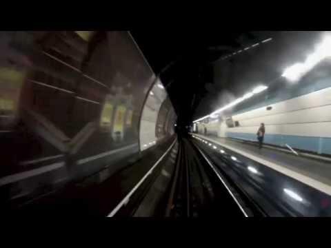 Ligne B du RER Cabine d'un MI 84, GoPro Hero 3