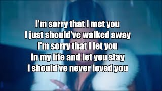 Toni Braxton - Sorry (Lyrics)