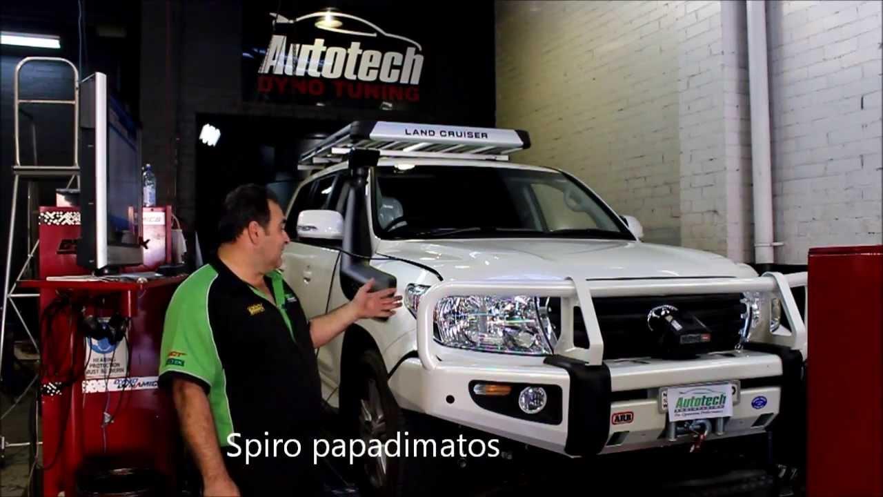Toyota Land Cruiser Diesel >> 200 series Toyota landcruiser Twin Turbo Diesel Uniq installation - YouTube