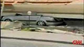Chile Earthquake 2007 footage