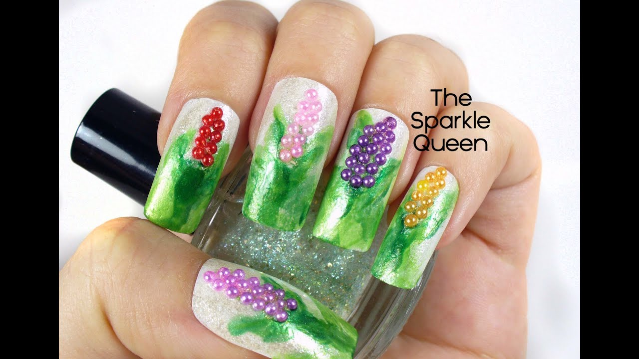 Spring flower nail art tutorial youtube spring flower nail art tutorial mightylinksfo
