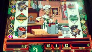 tabasco High limit chef bonus slot machine $1 denom