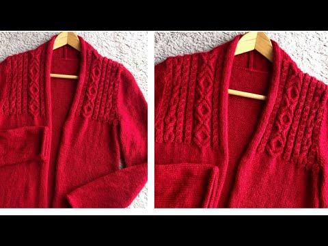 Phan 1-Knitting, đan áo Len Nữ, đan áo Khoác, đan áo Len Vặn Thừng, đan áo Noel, Knit Sweater Lady,