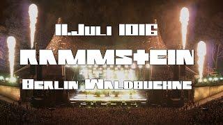 RAMMSTEIN - LIVE @ WALDBÜHNE BERLIN - KOMPLETTES KONZERT (naja, fast)