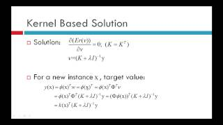 Reinforcement Learning: Kernelized Value Function Approximation