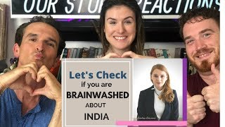 Are You Brainwashed About India - American REACTION!!