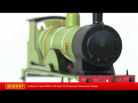 Model Railroad Toy Hornby Collectors Club Special LSWR 4-4-0 Class T9 'Drummond' Decoration Sample