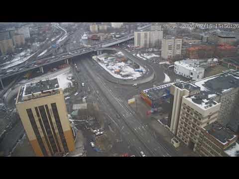 Москва - Нижегородская улица - веб камера 15.02.2020, 12:56