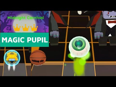 Rolling Sky Magic Pupil VS Basketball VS RS 001 - Midnight Carnival + Easy Way | SHAvibe