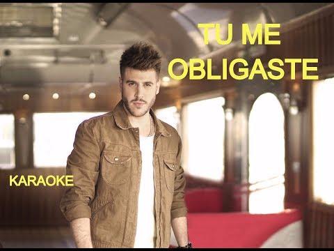 Me Obligaste / Karaoke