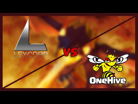 OneHive vs. LexCorp™ arranged war | LexCorps 3 star attacks