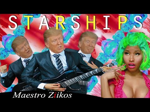 Donald Trump Singing Starships  Nicki Minaj