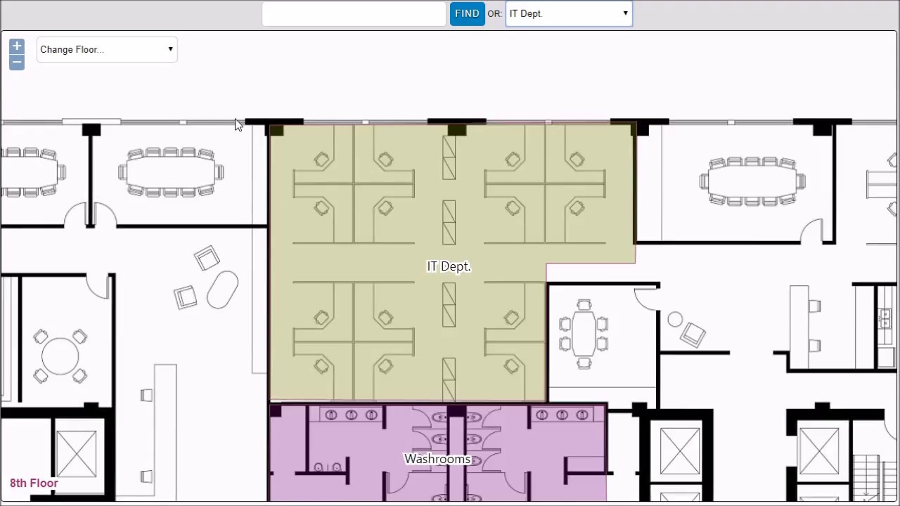 Office Plans Using Floor Plan Mapper To Manage Areas Of Interest On Office Floor Plans