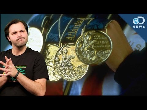 Are Olympic Gold Medals Really Made Of Gold?
