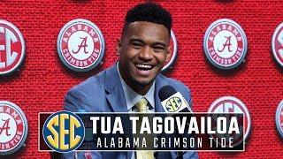 Alabama QB Tua Tagovailoa talks Clemson loss, comparison to Nick Saban