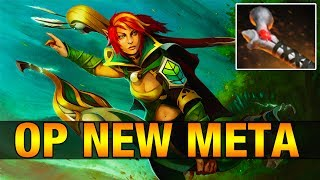 OP NEW META - Wagamama 7.3K MMR Plays Windranger With Rod of Atos - Dota 2